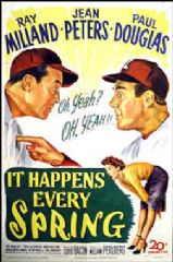 It Happens Every Spring 1949 DVD - Ray Milland / Jean Peters